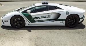 Lamborghini Polizei