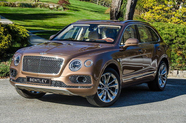 bentley bentayga – luxus-suv mit über 600 ps | luxusfirmen